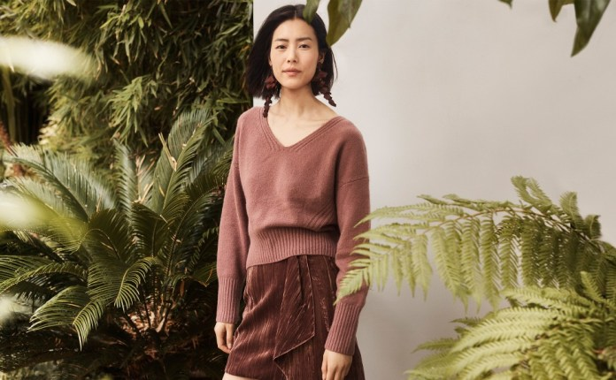 H&M Debuts Recycled Cashmere and Velvet Collection for Autumn/Winter