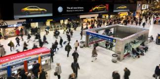 JCDecaux Wins £280m Advertising Contract with Network Rail