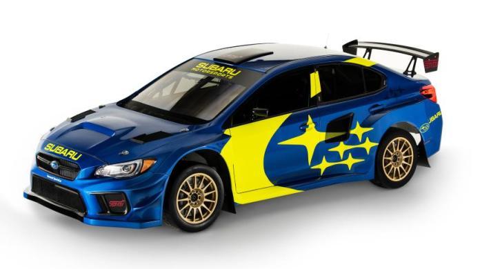 subaru racing livery