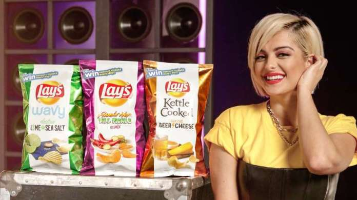 Lay's has introduced three limited-edition flavour with Bebe Rexha.