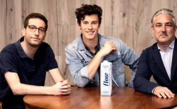 Flow Alkaline Spring Water Gets Shawn Mendes as Partner