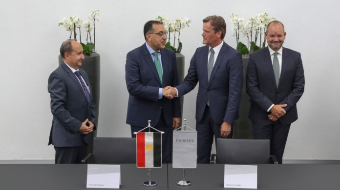 Mercedes-Benz Signs MOU for New Egypt Car Assembly