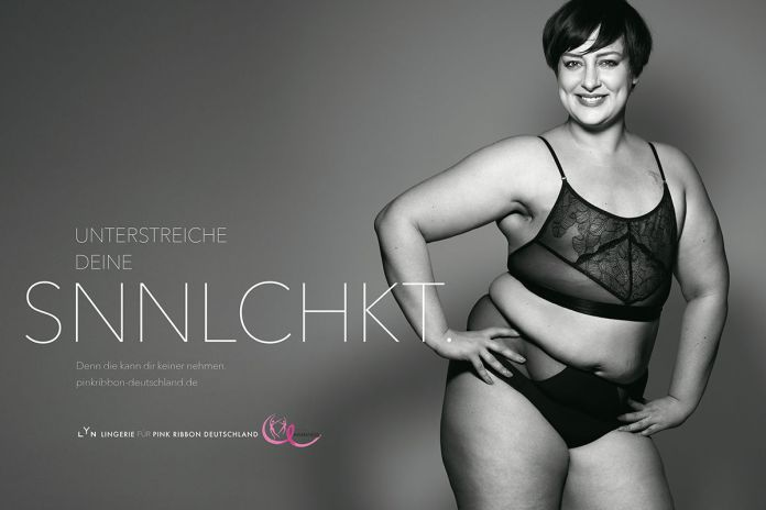 BBDO Düsseldorf : Pink Ribbon Germany : LYN campaign photographed by Rankin 3