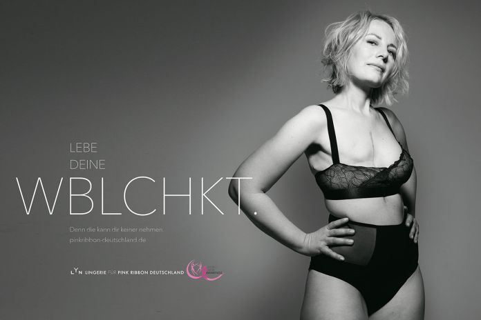 BBDO Düsseldorf : Pink Ribbon Germany : LYN campaign photographed by Rankin 6