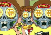 Pringles successfully traps 'Rick and Morty' in 2020 Big Game Ad
