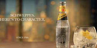 Schweppes 'Here's to Character' campaigns growth into sophistication