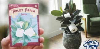 "Squatty Potty develops Toilet Paper Seeds - ""Grow Your Own TP"""