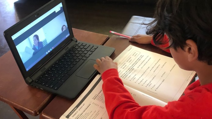 eBay distributes laptops to students to support virtual learning