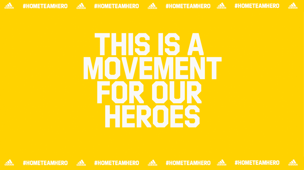 Adidas gives back to frontliners with