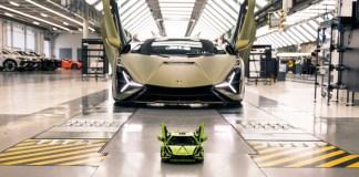 Lamborghini and the LEGO Group recreate the Lamborghini Sián FKP 37