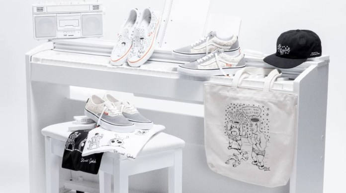 Vans honours the late artist Daniel Johnston in latest collection