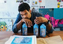 Bombay Sapphire collaborates with Chicago artist Hebru Brantley