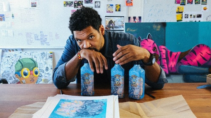 Bombay Sapphire collaborates with Chicago artist Hebru Brantley