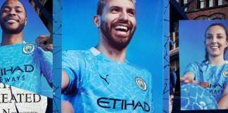 PUMA unveils the latest Manchester City Home Kit