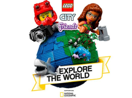 LEGO Group unveils its recent partnership with National Geographic
