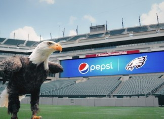 PepsiCo lands a seven-year partnership with the Philadelphia Eagles