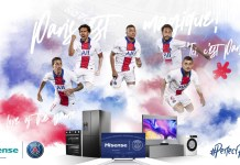 Hisense announces global partnership with Paris Saint-Germain