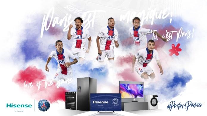 Hisense announces global partnership with Paris Saint-Germain
