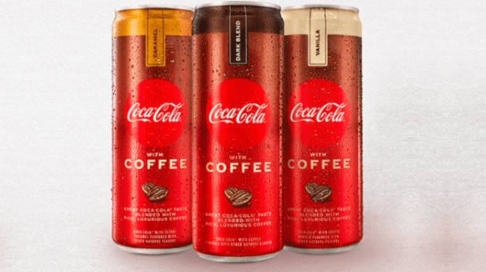 Coca-Cola introduces its first sip of Coca-Cola with Coffee