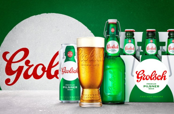 Grolsch Premium Pilsner returns to the UK with a new brand identity