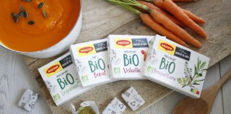 Maggi launches organic bouillon cubes in recyclable paper wrapper