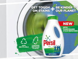 Persil launches new liquid formulation in 100% recyclable bottles