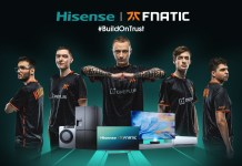 Hisense announces global partnership with Fnatic Esports Organisation