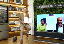 LG Signature partners with luxury Italian lifestyle brand Molteni&C