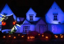 Samsung creates a show-stopping display in celebration of Halloween