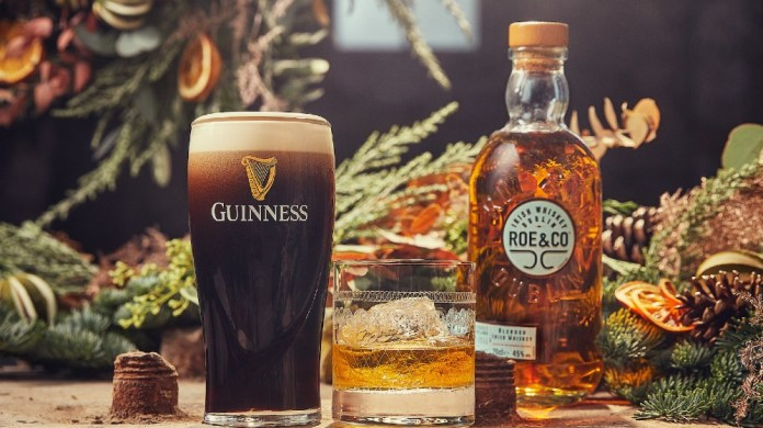 Roe & Co Blended Irish Whiskey partners Guinness for its first US campaign