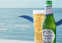 Peroni Libera 0.0% announces its multi-year partnership with Aston Martin