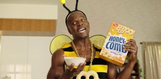 "Honeycomb cereal launches ""Big Honey"" campaign starring Terry Crews"