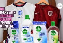 Dettol teams up with The Football Association to reinforce good hygiene