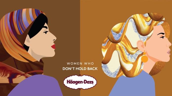 Häagen-Dazs renames its Iconic flavours to celebrate women