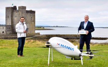 Samsung partners with Manna to launch Drone delivery service
