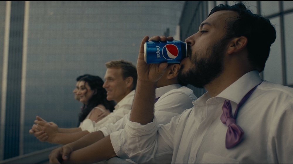 Pepsi portrays an optimistic future in its latest ad creative