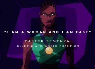 Lux takes a stand for Olympic gold medalist, Caster Semenya