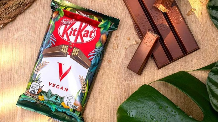 Nestlé makes plant based dreams come true in its latest KitKat V