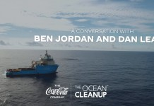Coca-Cola Company announces partnership with The Ocean Cleanup