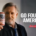 Budweiser partners Bill Pullman in their latest Independence Day ad