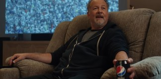 Pepsi encouraging fans to stay in and unapologetically binge football