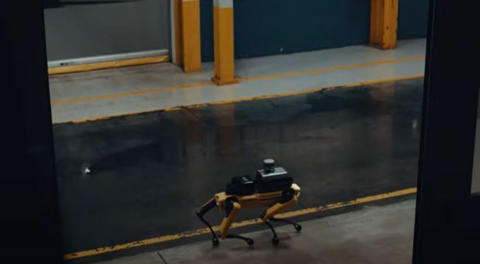 Image taken from YouTube of the robot design
