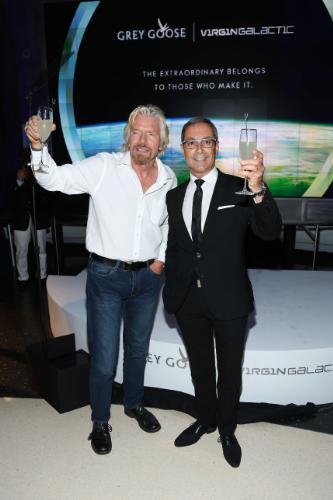 GREY GOOSE® Vodka Announces Global Partnership with Virgin Galactic, Richard Branson's Pioneering Commercial Spaceflight
