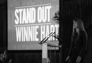 Winnie Hart, Co-Author of Stand Out and President of TwinEngine