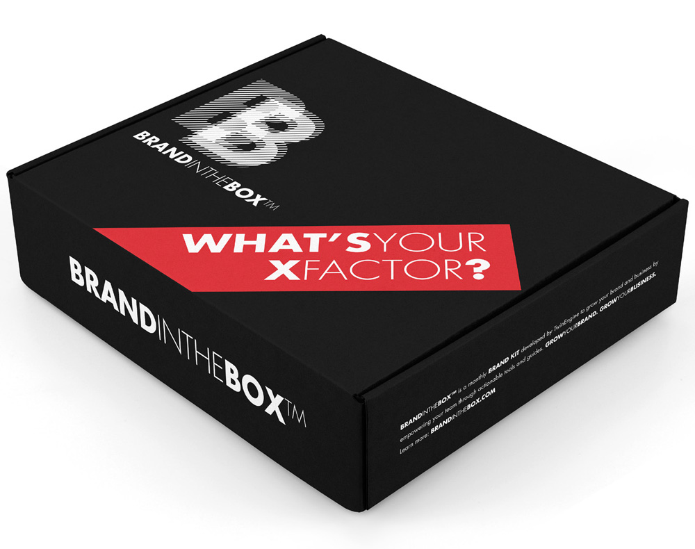 BrandintheBox™ – March box – What's Your XFactor?