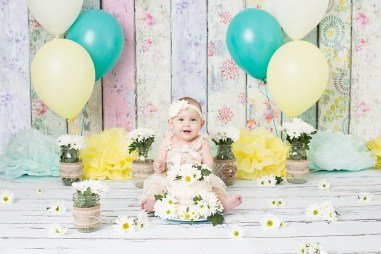 Brandi Teuscher Photography Burley Idaho Cake Smash Children Studio Photographer