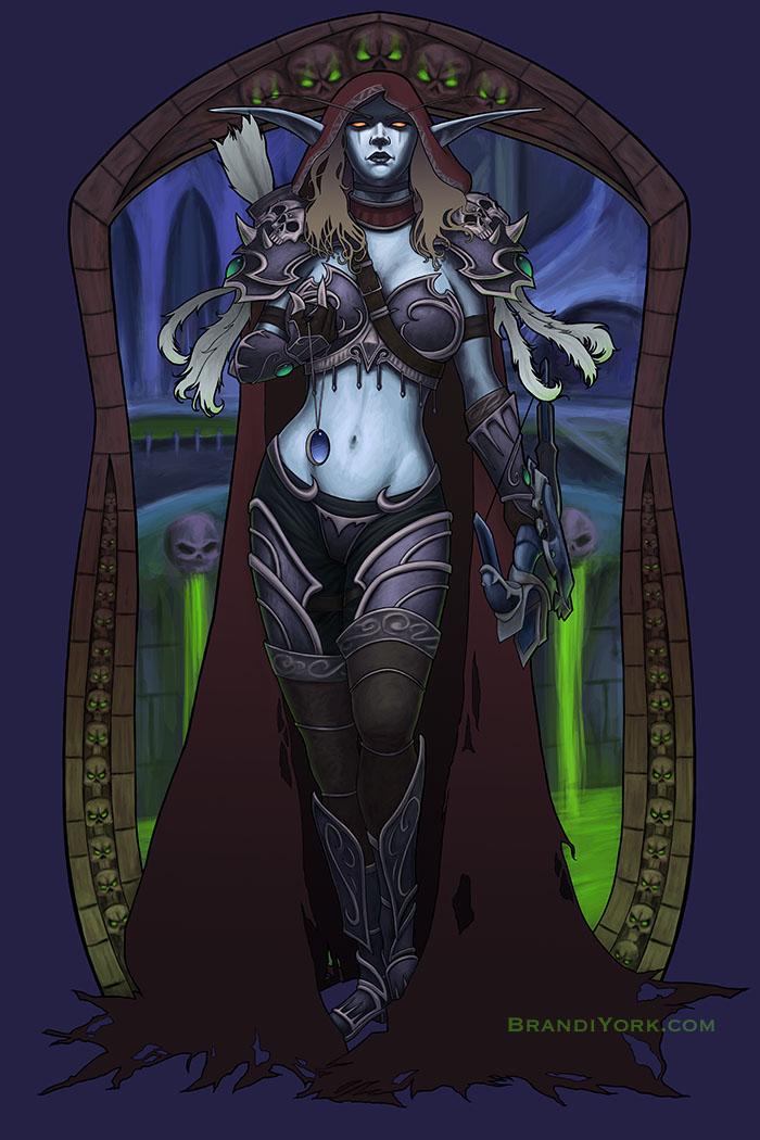 Dark Lady Watch Over Us