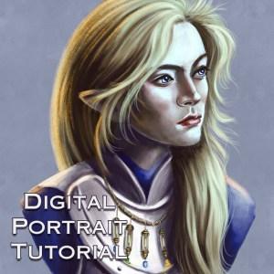 Digital Portrait Tutorial