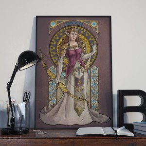 Legend of Zelda – Wisdom – Print
