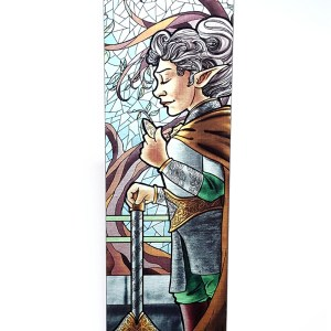 La Clerc – The Cleric Metal Bookmark